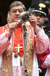 San Gennaro (St Januarius) blood