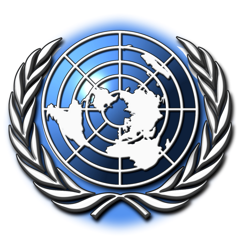 United Nations Emblem - Art of Heraldry - Peter Crawford