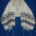 tallit blue gold TAC-th